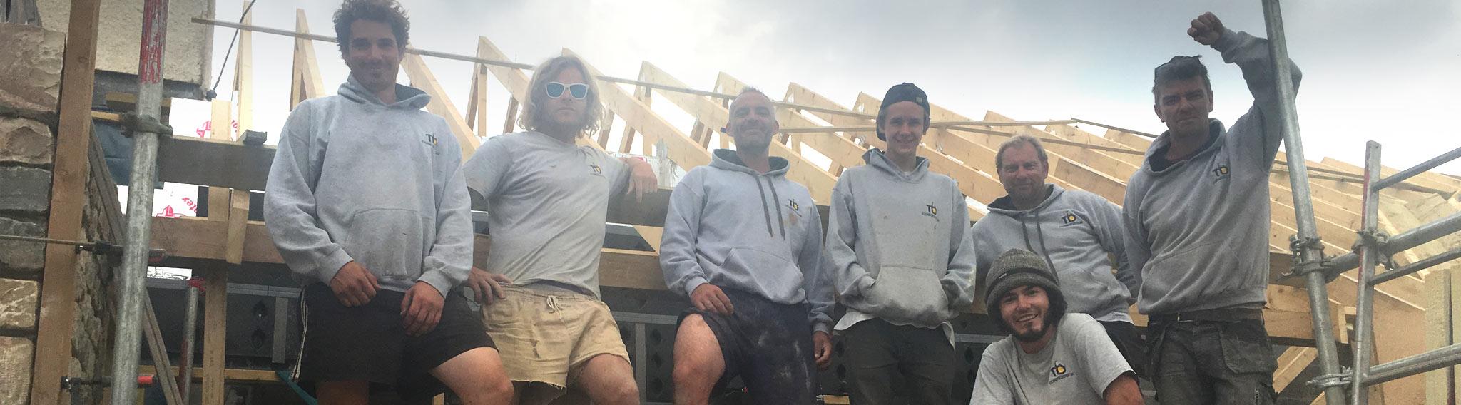 TD Construction team shot